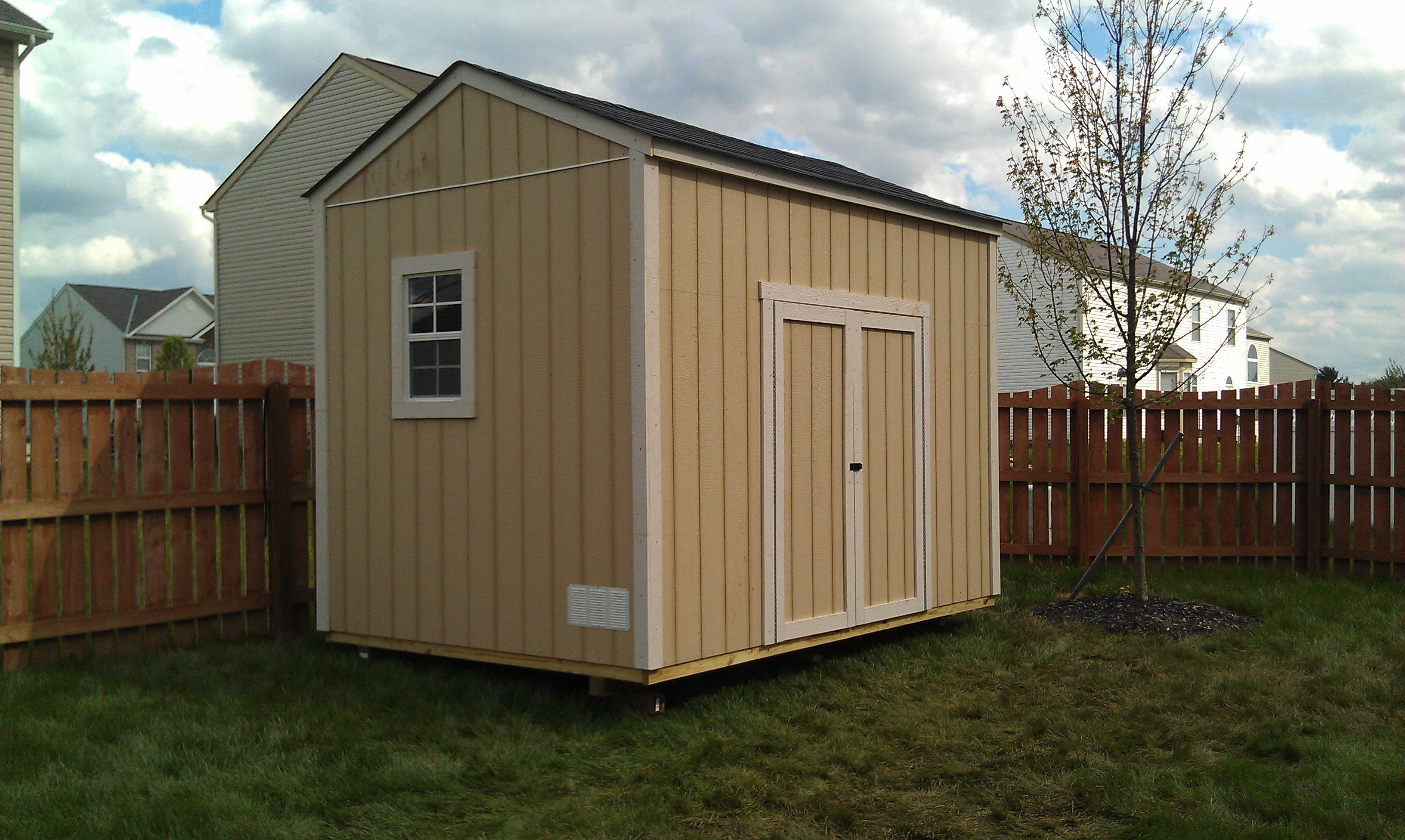 How to roof a gable shed for Gable sheds